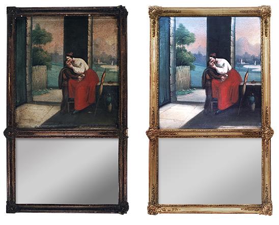 restauration de tableaux anciens peintures anciennes restauration de tableaux paris. Black Bedroom Furniture Sets. Home Design Ideas